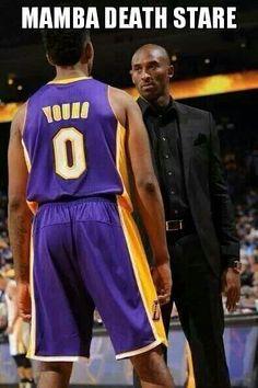 The Black Mamba Death Stare - ya gotta love Kobe for his intensity! No  prisoners cf71d4a8b