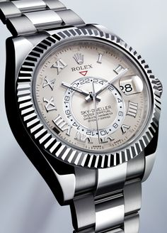 Rolex Sky-Dweller. Umm yes please!