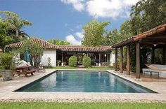 front rendered californian hacienda style fencing - Google Search