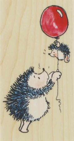 Hedgehog stamps - 6-758-730427 - Addicted To Rubber Stamps