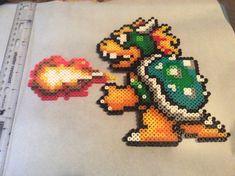 Super Mario Bros. 3 Bowser Perler Bead Sprite