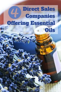 Essential oils are huge right now. As a result, there are a number of direct sales companies featuring essential oils and opportunities for men and women to earn an income as consultants.