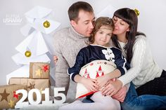 Chtistmas kids photosession