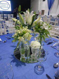 Arranjo de mesa Evento Corporativo -Almoço de Posse nova diretoria IBEF biênio 2015-2017   Stella Miranda