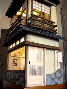 Asian dollhouse