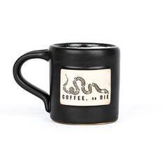 Coffee, or Die Hand Made Mug - Black Rifle Coffee Company - 1