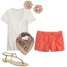 Spring colors. Simple style. I like it (: