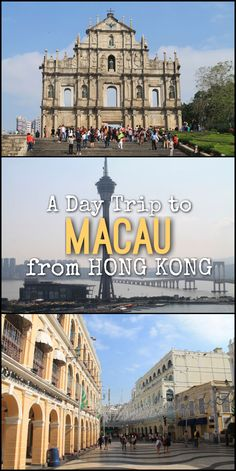 Everything you need to know about doing a day trip to Macau from Hong Kong. Explore the historic streets of this former Portuguese colony.