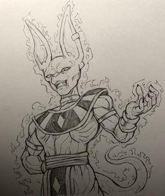 Dbz Drawings, Ball Drawing, Art Anime, Manga Anime, Cute Dragons, Anime Tattoos, Character Sketches, Z Arts, Dragon Ball Gt
