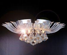 Kristall Deckenleuchte 45cm Leuchte Deckenlampe Kronleuchter Decken Beleuchtung