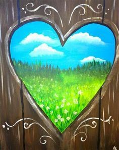 Acrylic painting idea- but maybe with state of Texas cut out and bluebonnets