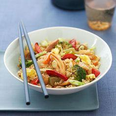 Veggie Fried Rice #recipe
