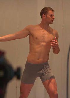 Manuel Neuer shirtless body...