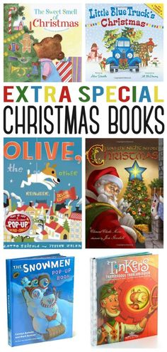 Extra Special Christmas Books. So many I want to add to my collection!