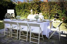 golden safari guest table