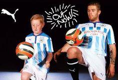 Huddersfield Town FC 2014/15 PUMA Home Kit