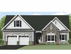 Eplans Ranch House Plan - Ranch with Options - 1903 Square Feet and 3 Bedrooms(s) from Eplans - House Plan Code HWEPL75229