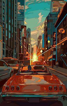 art kawaii - Japanese Illustrator BerryVerrine Dazzles With Awesome Retrowave Kawaii Art Art Kawaii, Arte Do Kawaii, Psychedelic Art, Animes Wallpapers, Cute Wallpapers, Aesthetic Art, Aesthetic Anime, Aesthetic Japan, Japon Illustration