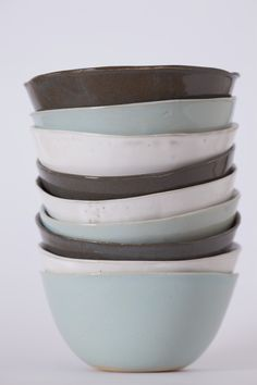 Clay Art by Sonja Moore. Affordable tableware with an arty feel that is handmade & also oven & dishwasher safe Noodle Bowls, Clay Art, Heaven, Ceramics, Tableware, Handmade, Ceramica, Sky, Pottery