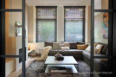 interior design by choc studio - furniture meridiani