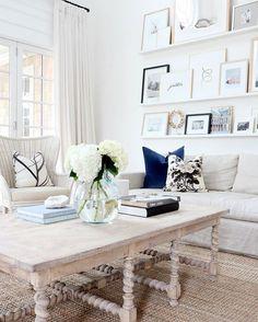@StudioMcGee: Our #studiomcgeehc navy velvet pillow in @monikahibbs dream of a living room.