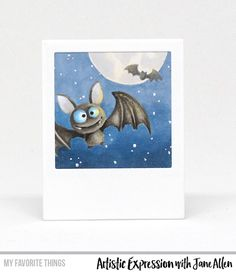 Handmade project from Jane Allen featuring Birdie Brown Witch Way Is the Candy? #mftstamps