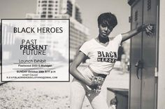 """Repost a new photo taken by blackheroesclothing! THE TIME IS HERE  LAUNCH EXHIBIT BLACK HEROES Tomorrow CHICAGOILLINOIS FLEETWOOD(2333.s Michigan ) Unifying with CHICAGO VERY OWN LBS VISION @jay_lucasbrothers @iammrlucas GOOD DEEDS CREW"""" @kmoon319 THE HOST WITH THE MOST @teesmith_ MUSIC BY @djpatxkl Performance by THE FUTURE KINGS @allen_kidafro & his crew This event will started @ 5 RSVP to BLACKHEROESclothing@gmail.com  Heroes Grow Heroes. You have to be one to understand. E P I C. C O L L…"""