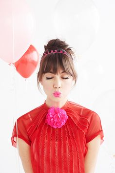 ban.do girl talk headband - kiss me!