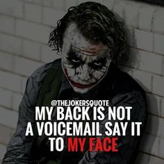 Most memorable quotes from Joker, a movie based on film. Find important Joker Quotes from film. Joker Quotes about who is the joker and why batman kill joker. Joker Qoutes, Joker Frases, Best Joker Quotes, Swag Quotes, True Quotes, Quotes On Wisdom, Quotes On Haters, Quotes On People, Quotes Quotes