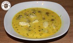 Exotische Hähnchen -Kokos Suppe (scharf) | FITNESS-DESSERT.DE