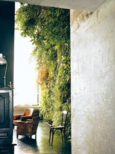interior green wall
