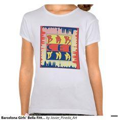 Barcelona Girls' Bella Fitted Babydoll T-Shirt
