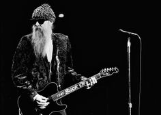 """Turn on, Tune in, Rock out"" - Billy Gibbons"