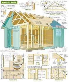 The DIY Garden Shed Plan | Shed