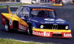 Klaus Ludwig in the Schnitzer-BMW 2002 Turbo – race winner at the Bilstein Supersprint 1977