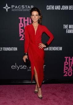 Kate Beckinsale in Donna Karan – The Pink Party Presented by Elyse Walker
