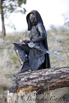 Nightingale Armor Cosplay (Skyrim) By Beebichu On Etbgerfp Fantasy Warrior, Warrior Girl, Warrior Princess, Warrior Women, Narnia, Medieval Fantasy, Dark Fantasy, Fantasy Art, Story Inspiration
