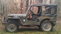 1951 Willys CJ-3A - Photo submitted by Bryan Rushing.