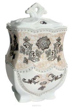 Купить Teabreeze Регулярная коллекция Очарование востока чай ароматизированный в керамической чайнице, 100 г в интернет-магазине OZON.ru