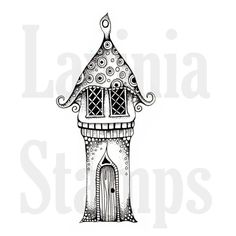 Lavinia Stamps - Clear Stamp - Harietta's House,$12.79