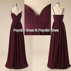 party dress Cheap Bridesmaid Dresses/Deep V-neck by populardress