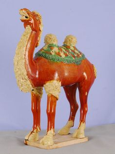 Tang Camel by RYeakelCollection on Etsy, $2400.00