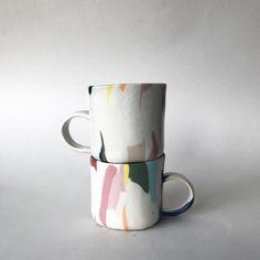 "489 Likes, 9 Comments - Risa Nishimori (@risaasama) on Instagram: ""Color series #ceramic #nerikomi"""