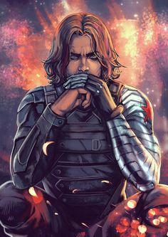 The Winter Soldier - I knew him by ElephantWendigo on deviantART