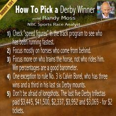 #Derby101: How to Pick a Kentucky Derby Winner with Randy Moss, @Nancy Christopher Sports Race Analyst #KentuckyDerby #Derby #KYDerby
