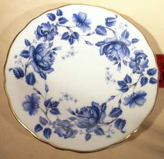 Royal Grafton China at Replacements, Ltd. China Painting, Silk Painting, Monochrome Painting, Game Of Thrones Winter, Simple Life Hacks, Vintage Plates, Delft, Fine China, Islamic Art