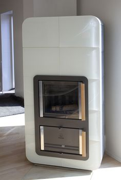 Wow, what a ceramic wood fired stove.