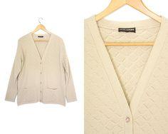 Button up. Pocket by LiveToLiveVintage Sweater Cardigan, Button Up, Hipster, Pocket, Sleeves, Sweaters, Etsy, Vintage, Tops
