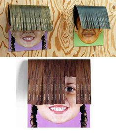 Hairdressers taking creativity past the salon! Clever posters giving the bangs one snip at a time.