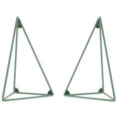 Pythagoras hyllkonsoll 2-pack, grön i gruppen Möbler / Förvaring / Hyllor hos RUM21.se (1025635)